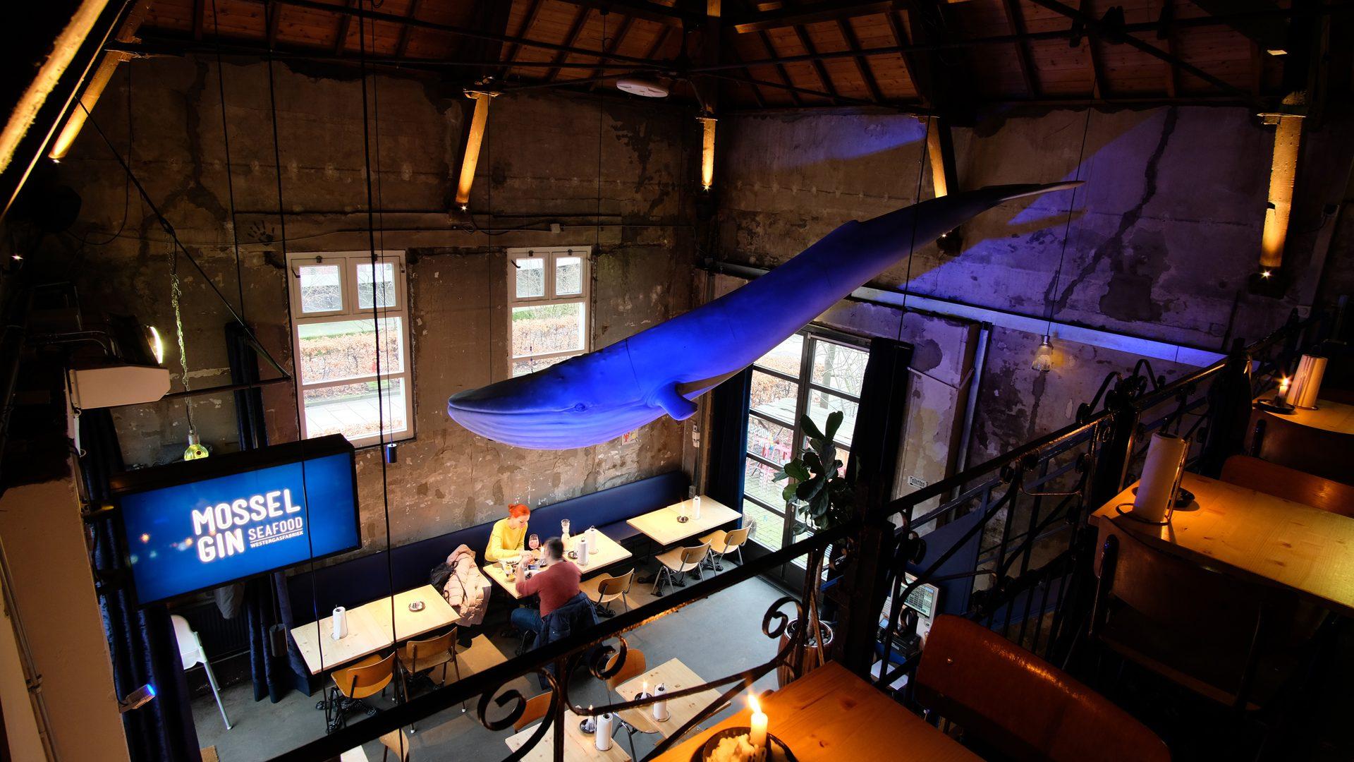 Lichtontwerp restaurant hospitality Mossel&Gin