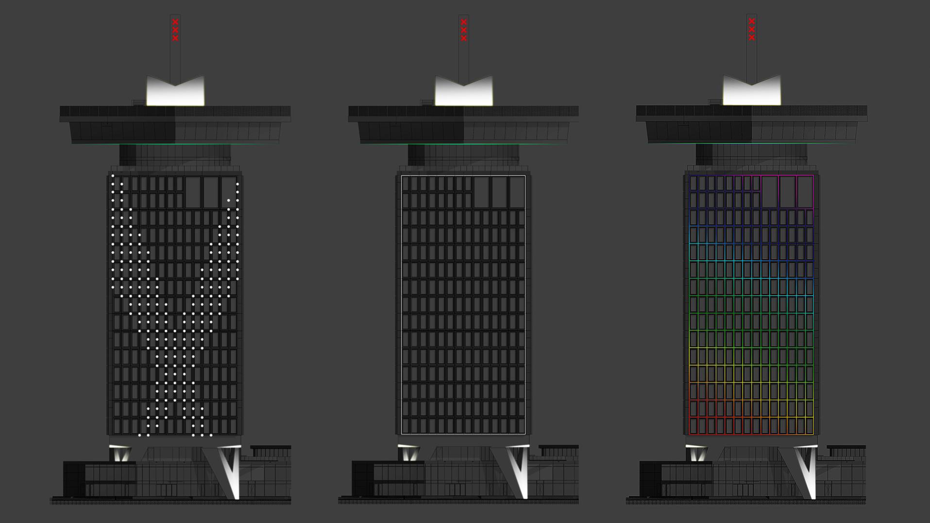 Lichtontwerp Adam toren