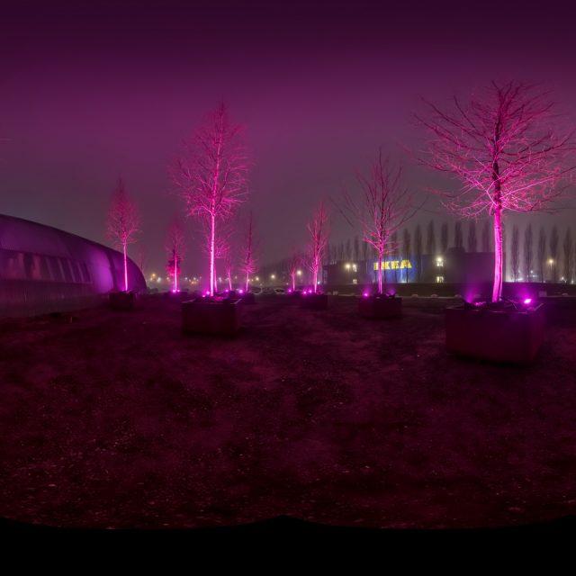 Lichtontwerp GreenNest Park