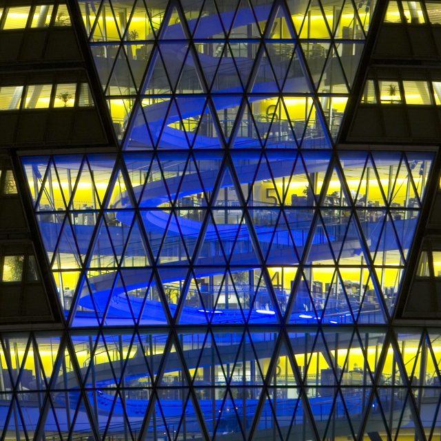 Lichtontwerp London City Hall