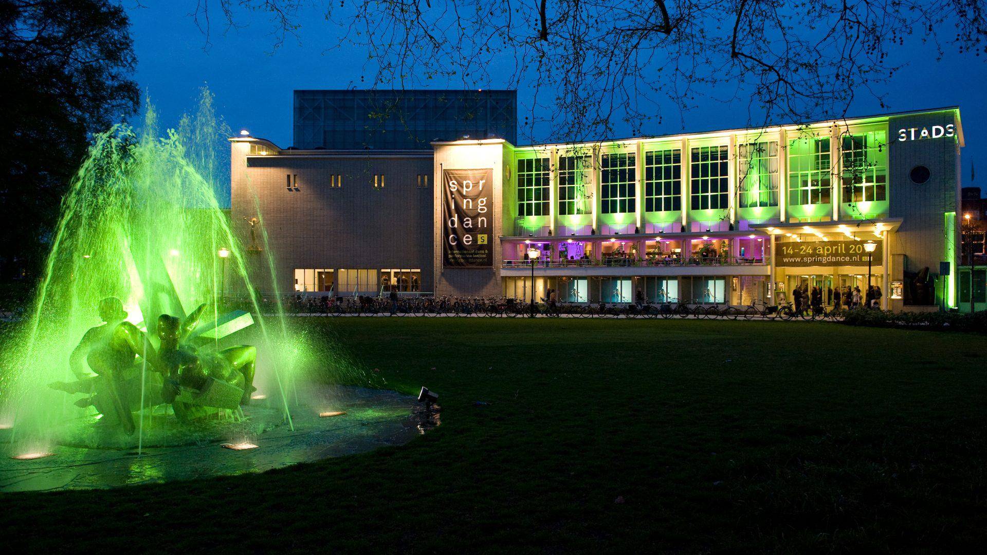 Lichtontwerp stadsschouwburg Springdance