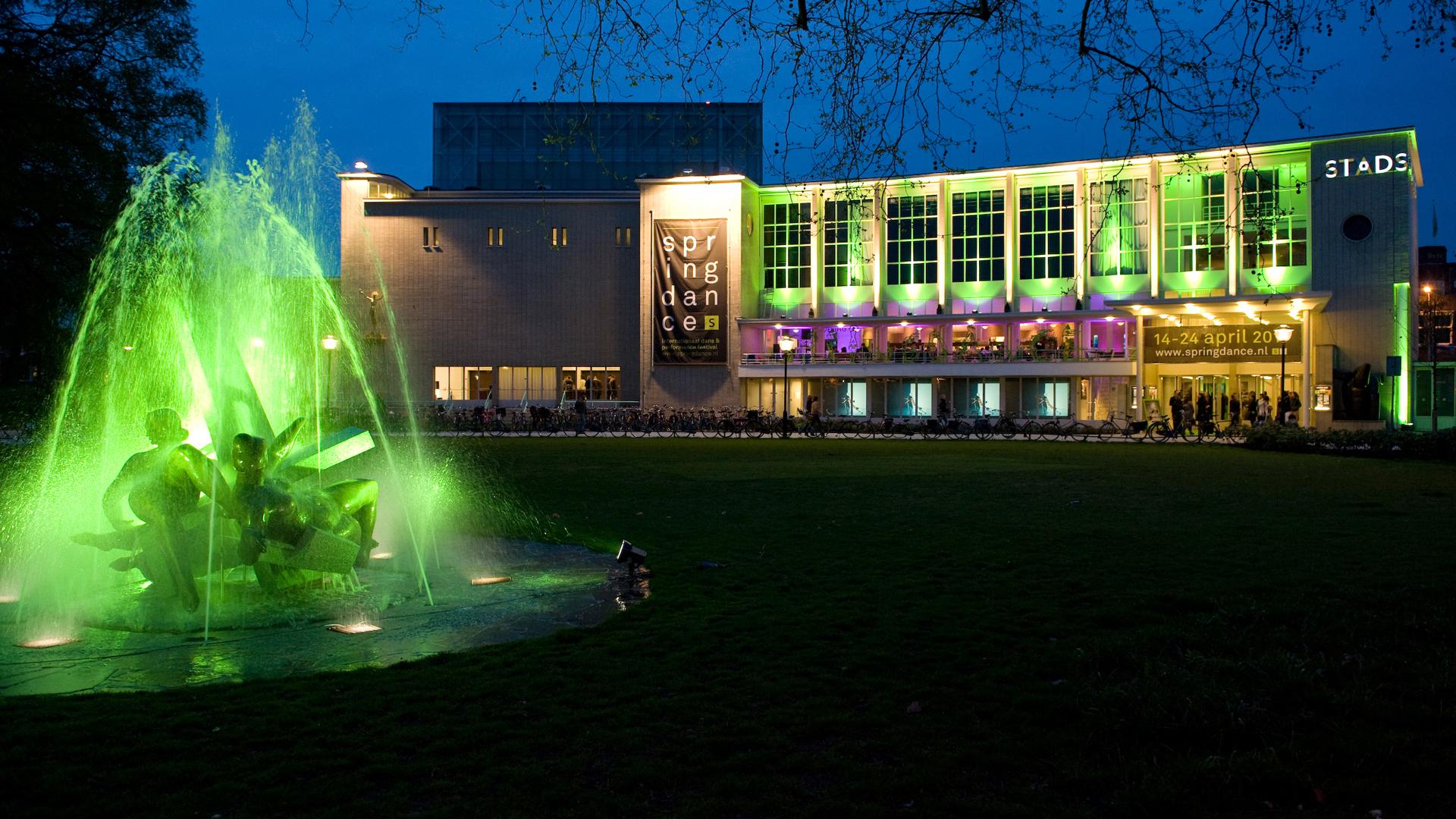 Lichtontwerp Stadsschouwburg Utrecht