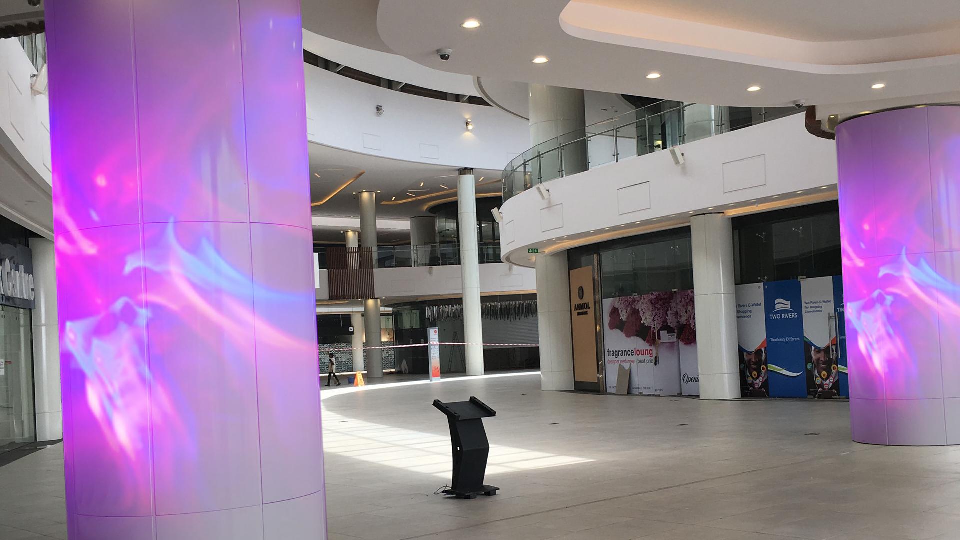 Dynamische retail verlichting