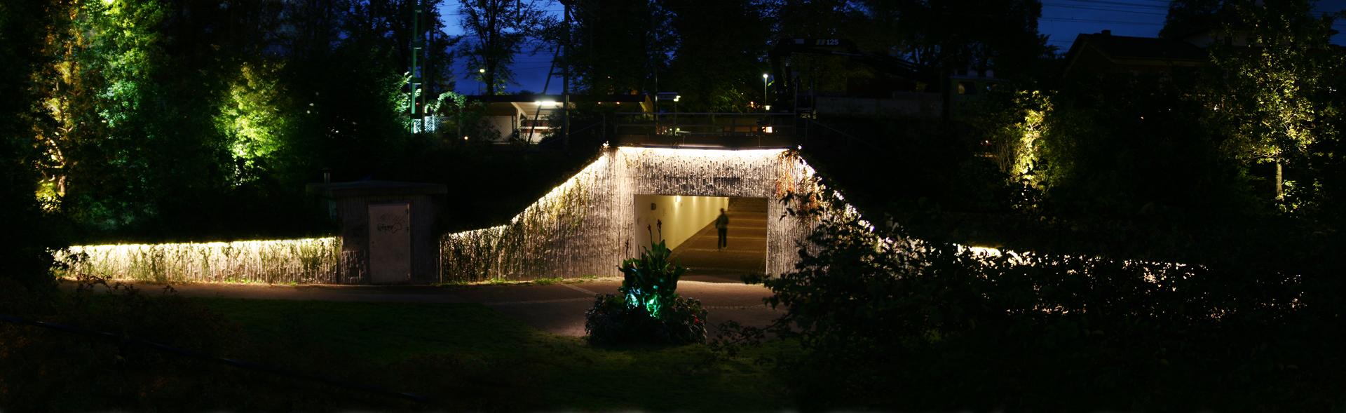Lichtontwerp spoorwegtunnel