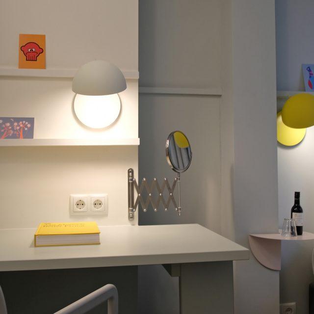 Lichtontwerp hotelkamers
