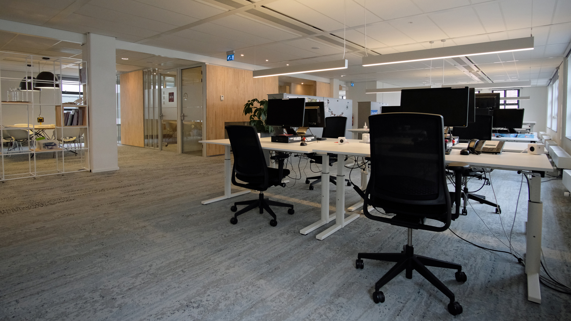 Lichtontwerp kantoor
